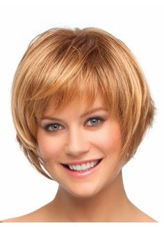 Ginger Mist Short Layered Synthetic Wig
