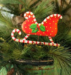 Candy Land Sleigh Stake by The Round Top Collection C8021