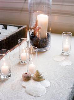 Sophisticated, Fuchsia & Navy, Beach-Inspired Wedding