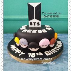 Bts Birthday Cake Bts Birthdays In 2019 Pinterest Bts