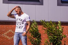 Release that inner chimp in our luxurious tees.  We ship worldwide   www.skinnychimp.co.uk