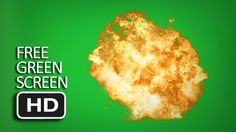 Free Green Screen - Explosion (for action movie)