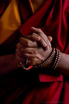 Prayer Beads in Hand
