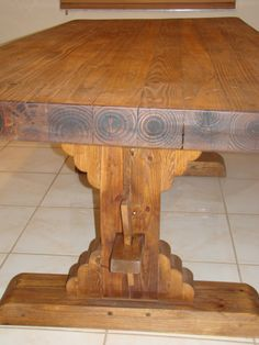 Rustic Dining Room Table | Susy Home Maker