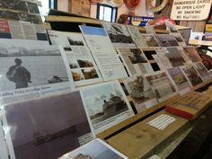 Dag 3 #35dagen #Papier Juttersmuseum Texel Bewaarde kranteknipsels over van alles wat er aan de kust is gebeurd
