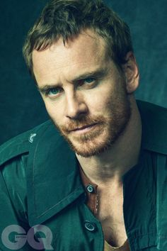 Michael Fassbender   Take a deep breath....and contemplate...