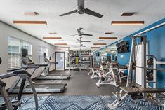 Keep up with your #fitness routine in our fitness center. #ReNewBraelinn #GA #Apartments #IAmRenewed Pet Friendly Apartments, Peachtree City, Routine, Floor Plans, Fitness, Home, Ad Home, Homes, Haus