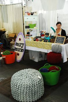 # creative craft fair booth