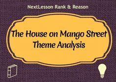 The House on Mango Street Theme Analysis | CCSS.ELA-Literacy W.7.9  W.7.2  W.6.2  W.6.9  W.8.2  W.8.9  RL.6.2  RL.6.1  RL.8.1  RL.8.2  RL.7.2 RL.7.1