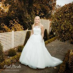 We love this photo of real bride Beckiee who looks absolutely stunning in 'Titania' by Viva Bride  Beckiee has styled her beautiful gown with the 'Chelsea' jacket by Amixi  Please share your photos with us by emailing info@wed2b.co.uk