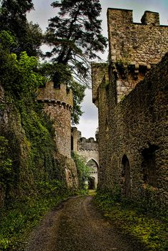 Gwyrch Castle, near Abergele, Conwy, north Wales by Wayne Rushworth photography Beautiful Castles, Beautiful Buildings, Beautiful Places, Castle Ruins, Medieval Castle, Welsh Castles, Architecture Old, Abandoned Places, Trekking
