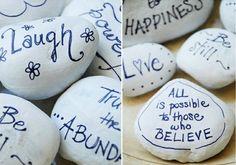 Wishing stones