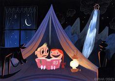"Disney & PIXAR's ""UP"" concept art #illustration"