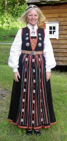 Hello all, Today I will cover the last province of Norway, Hordaland. This is one of the great centers of Norwegian folk costume, hav. Folk Costume, Costumes, Traditional Outfits, Norway, Scandinavian, Culture, Embroidery, Vintage, Fashion