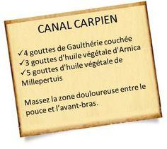 Syndrome du canal carpien : Massages aux huiles essentielles et conseils pour soulager la douleur. #Massages