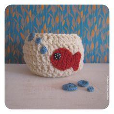 3 p'tites bulles et puis s'en va (basically it's a goldfish in a bowl! cute!)