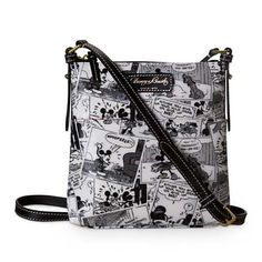 Your WDW Store - Disney Dooney & Bourke Bag - Mickey Mouse Comics - Mickey Mouse Comics - Letter Carrier