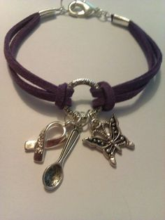 Osaxy Lupus Diva Suede Bracelet by MysticMoonShadow on Etsy, £3.00