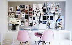 New York Office Decor Makeover von Rebecca Taylor - Mode Büro Dekor Workspace Design, Office Workspace, Office Decor, Office Inspo, Office Ideas, Home Office Space, Home Office Design, Architectural Digest, Rebecca Taylor