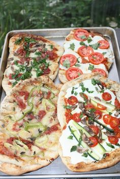 : Grilled Pizza