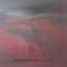 The Silence, 100 x 100 cm. Please click here: www.art-senger.com #painting #art #artwork #silence