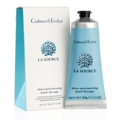 La Source ultra-moisturising Hand Therapy - Infused with macadamia nut oil, shea butter and seaweed and algae extracts.
