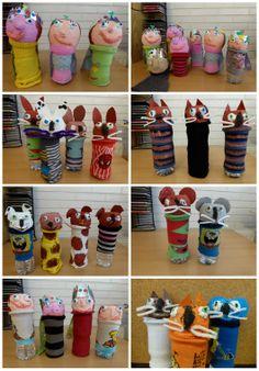 Goedkope knutsel tip van Speelgoedbank Amsterdam voor ouders en kinderen. Budget. Goedkoop knutselen.
