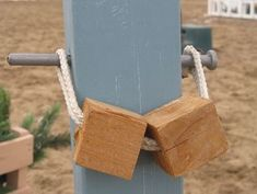 DIY horse jumps DIY Jump Cups - LOVE these! So simple and SO SMART!
