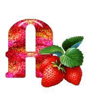 Animated Alphabet Strawberries