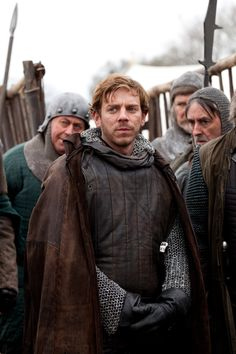 Joe Armstrong as Hotspur in The Hollow Crown.