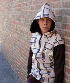 Oversized hoodie free pattern for teens