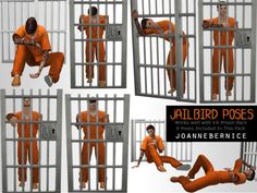 sims 4 cc // custom content pose pack // JAIL POSES by joanne bernice My Sims, Sims Cc, Sims 4 Couple Poses, Sims 4 Traits, Sims 4 Black Hair, Sims 4 Characters, Jail Cell, Story Writer, The Sims4