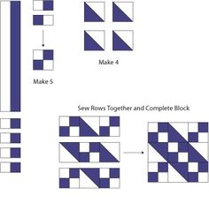 Learn How to Make the Traditional Jacob's Ladder Quilt Block: Sew the Jacob's Ladder Quilt Block