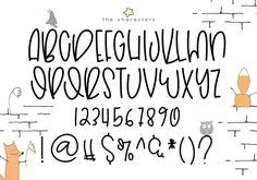 Fonts Alphabet Discover Hoptrot - A Cute Handwritten Font Hoptrot - A Cute Handwritten Font example image 9 Handwriting Alphabet, Hand Lettering Alphabet, Doodle Lettering, Creative Lettering, Lettering Styles, Brush Lettering, Cute Handwriting Fonts, Fun Fonts Alphabet, Doodle Fonts