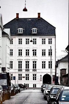 The home of Tenka Gammelgaard, in Denmark