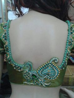 Peacock blouse pattern