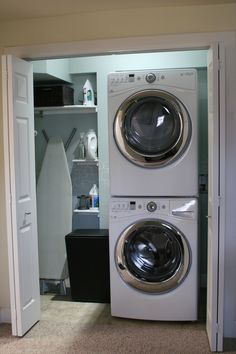 The Most Laundry Closet Ideas Budget Laundry Room Makeover Laundry ... More