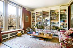 This classic, pre-war apartment, built in 1910, has a private elevator, five bedrooms and four bathrooms.