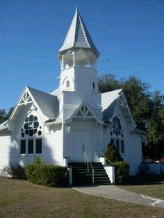 Good ole white church