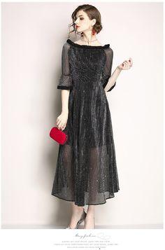 66b38df9124 Женские длинные платья  лучшие изображения (7)