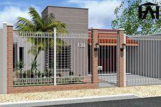 Designer de Interiores : Projeto Residencial! fachada , trabalhando com grades, hoje em um mundo moderno com, hoje as fachadas são feitas…