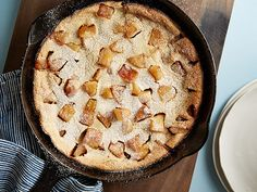 Whole-Grain Caramel Apple Oven Pancake Recipe : Food Network Kitchen : Food Network - FoodNetwork.com