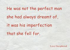 Loving beyond imperfections!