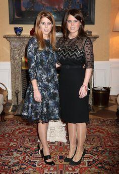 Bea e Eugenie promovem a Grã-Bretanha em Berlim - 17.01.2013