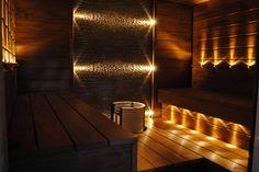 Saunan valaistus LED-valoilla   LED-valot.fi