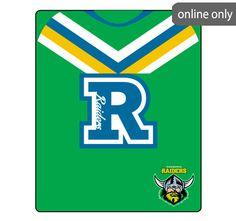 nrl-team-logo-polar-fleece-printed-155x127cm-throw-canberra-raiders