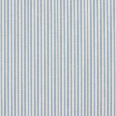 Cornflower Ticking Light Blue and White Small Scale Denim Drapery and Upholstery Fabric - Upholstery Ideas
