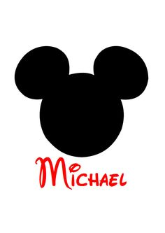 Mickey Personalized Custom Iron on Transfer Decal(iron on transfer, not digital download). $5.00, via Etsy.