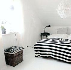Stripes bedroom