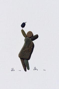 Pebble art by SHARON NOWLAN!
